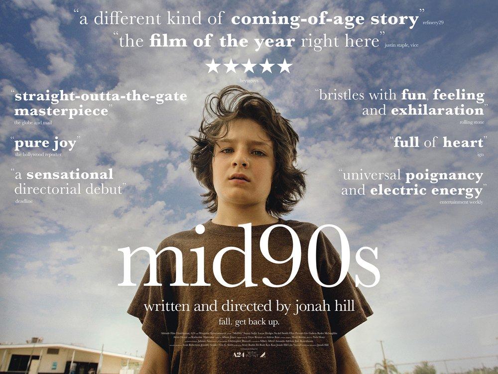 Resultado de imagem para mid 90s film poster