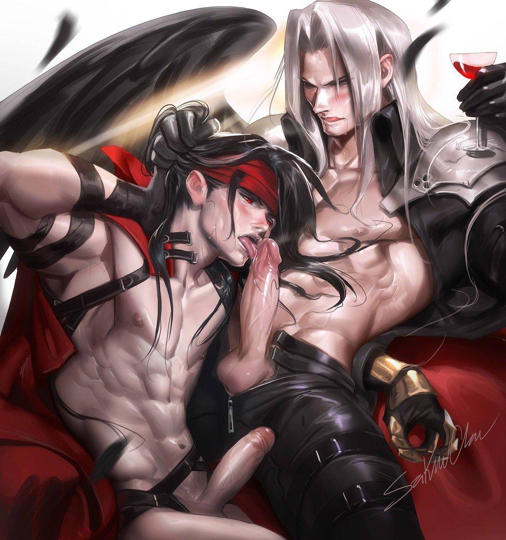 Gay demon anime