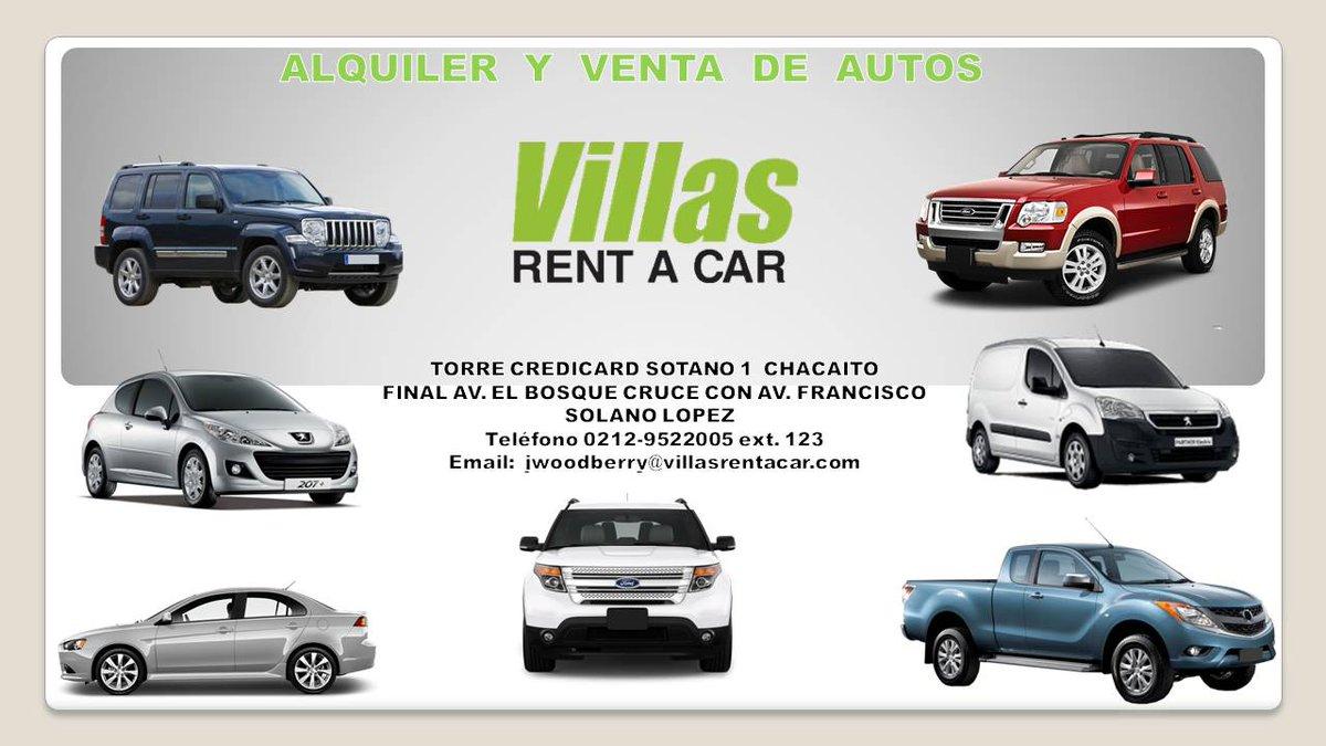 Venta de autos de rent a car
