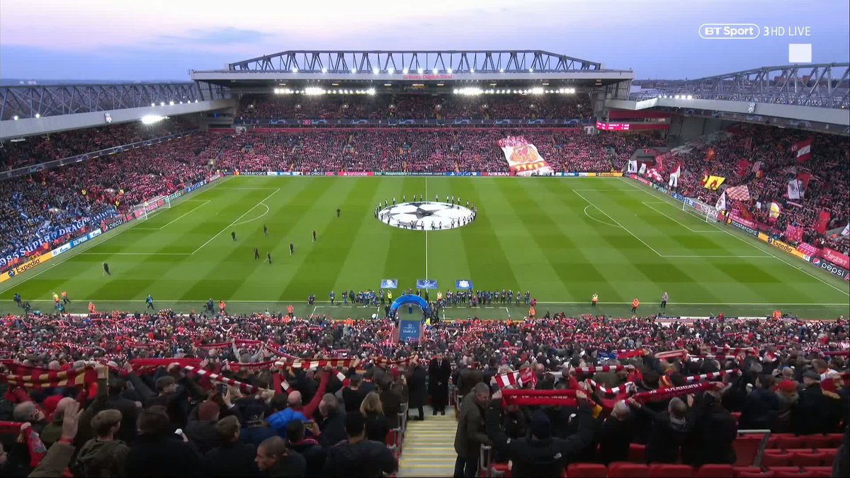"""Paul Ince: """"I think the atmosphere depends on the time, doesn't it? When we look at Old Trafford, because it is so vast now, it is so corporate, it's not the atmosphere that you do get at Liverpool."""" 😍"""