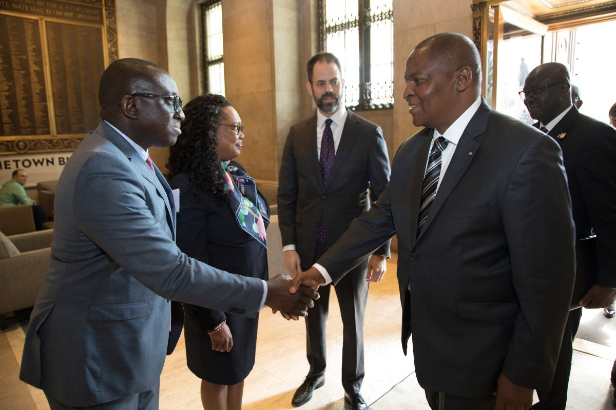 test Twitter Media - H.E. Faustin-Archange Touadéra, President of Central African Republic (CAR) joined us at the @USChamber to discuss reforms underway to attract foreign direct investment. Thanks to our partners at @IGDleaders for organizing this with us. https://t.co/c8mYM7Q5EK