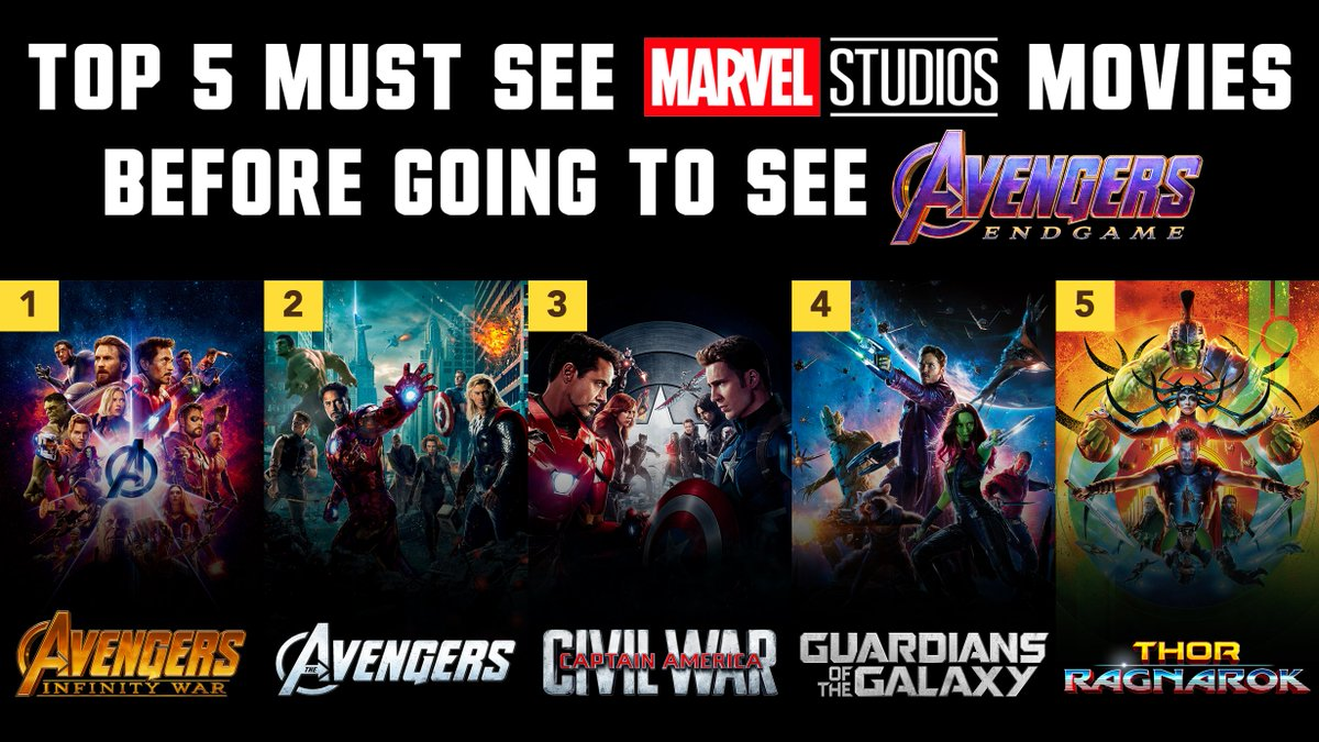 """Barstool Sports on Twitter: """"These are the movies you MUST watch before  Avengers: Endgame https://t.co/mdfVekGySi… """""""