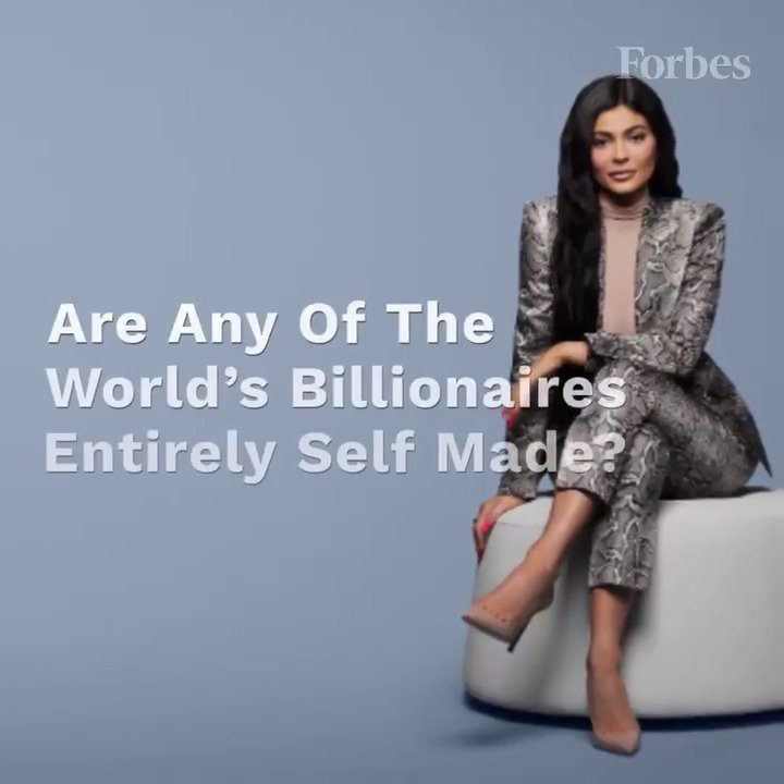 RT @Forbes: Are any of the world's billionaires entirely self made? https://t.co/AAsidRB1nC https://t.co/Z7uBXaDRiV