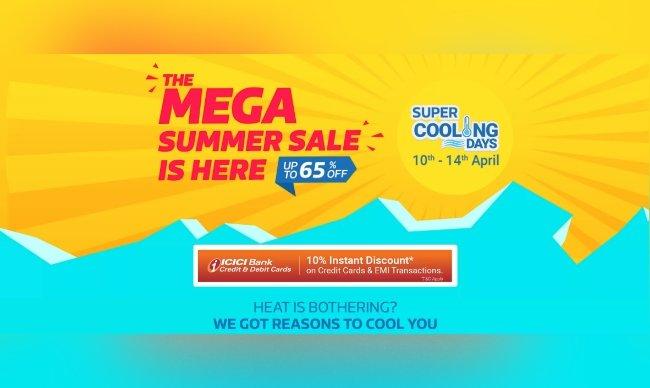Flipkart Super Cooling Days Sale