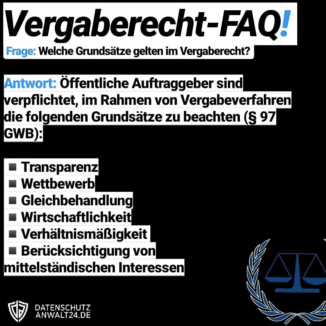 Post 3 der #Vergaberecht #FAQ-Reihe...   #vergabe #behörden #Fakten #QandA #recht #Samstag #jura #Hamburg #Berlin #Bremen #Frankfurt #cologne #köln #Muenchen #lübeck #Kiel #EU #welovehamburg #einkauf @legal_live Bildnachweis (law icon): Clker-Free-Vector-Images, pixabay CC0 pic.twitter.com/jJa0iCN8M6  by RA Okan Dogan