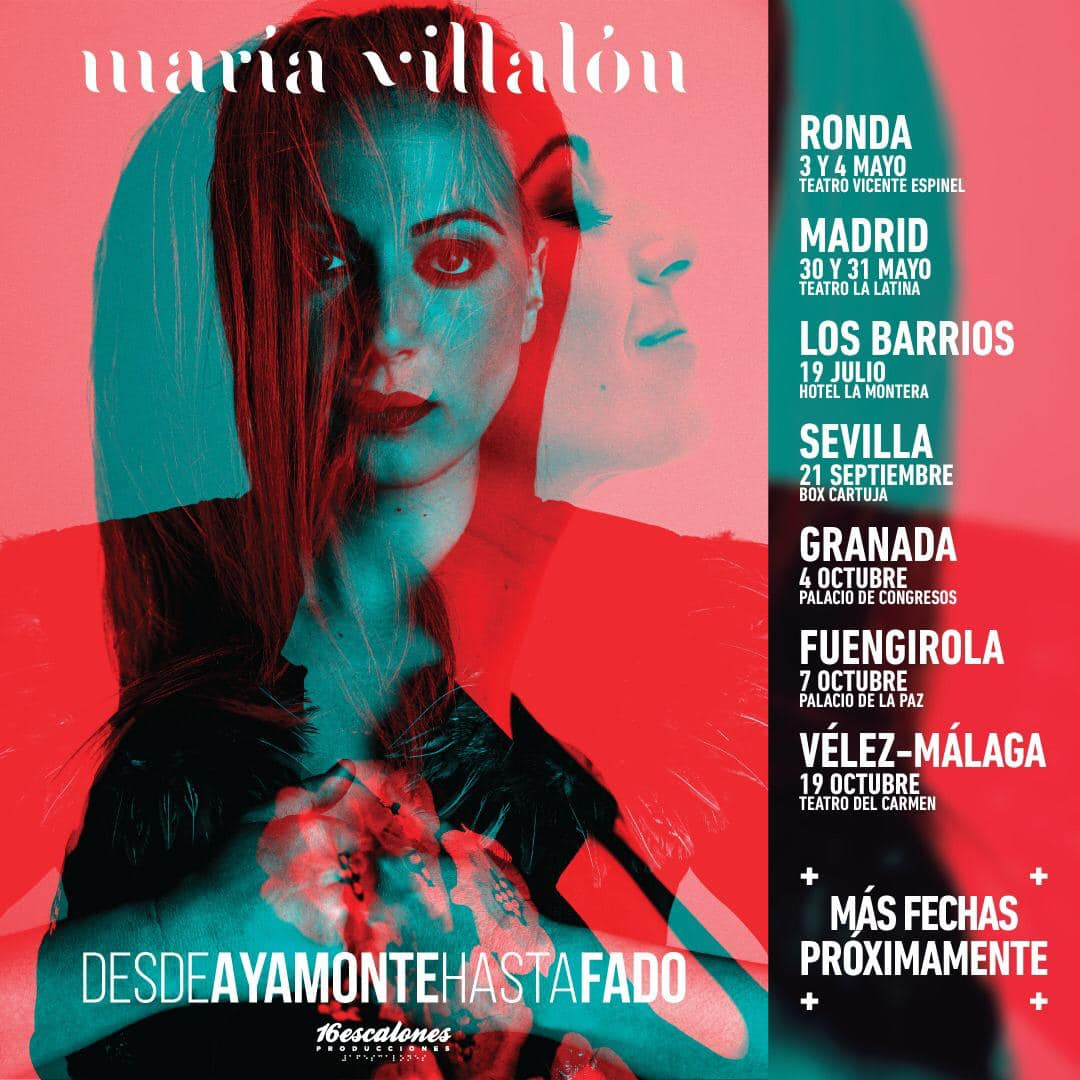 "María Villalón >> Gira ""Desde Ayamonte hasta fado"" + Nuevo single D3uKzUnXsAAPRm5"