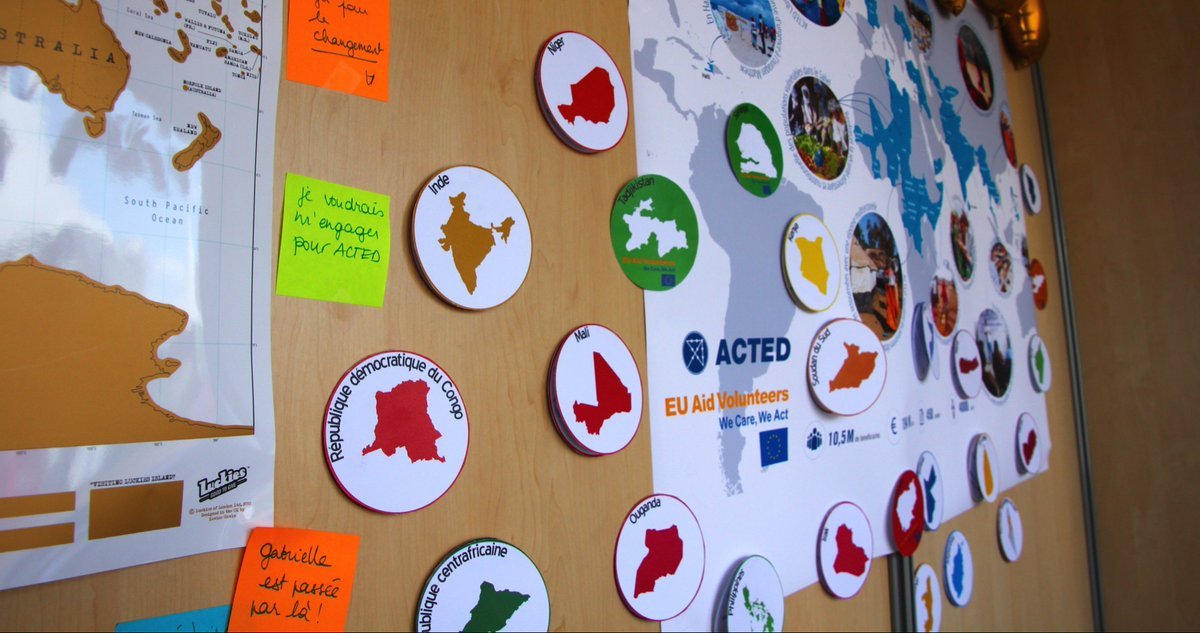 Come and join ACTED, Concern and PIN in #Brussels next Thursday to hear stories and reports from #EUAidVolunteers, and to discover opportunities for building your future in the #humanitarian sector!  Event registration and info: http://bit.ly/2UGt5VM