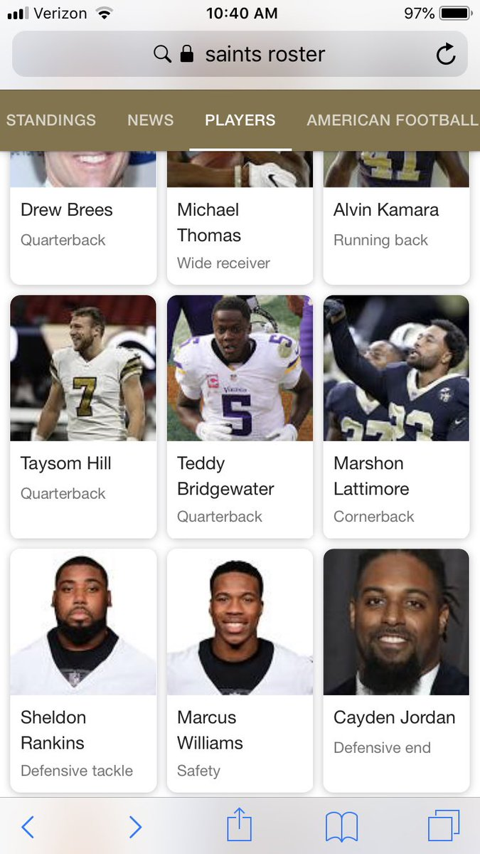 Cameron Jordan: *4-time Pro Bowler *1-time first-team All-Pro *4th on Saints all-time sacks list *Walter Payton Man of the Year nominee *Apparently named Cayden according to Google <br>http://pic.twitter.com/847MTKUu52