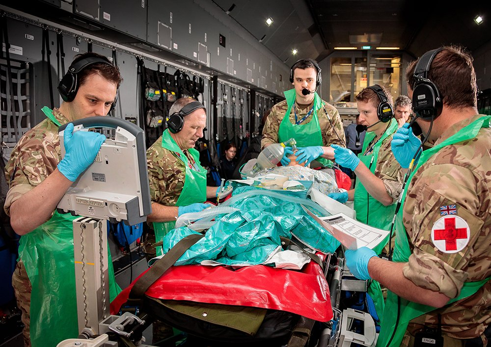 This week, Tactical Medical Wing are demonstrating lifesaving  capabilities to medical professionals and Defence partners from across the UK and overseas. Read more: https://bit.ly/2ULGjQV #TacticalMedicalWing