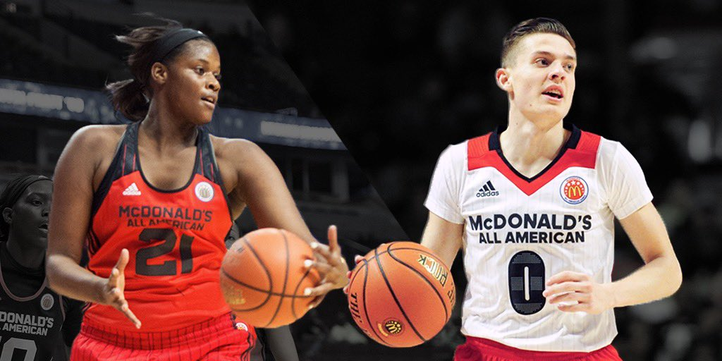 Games alum and now...NATIONAL CHAMPIONS 💪 Congrats @kylejguy5 and @kalanibrown21 on the clutch performances on college basketball's biggest stage 🙌 #WhereTheFutureStarts