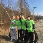 Image for the Tweet beginning: Great Community Cleanups happening across