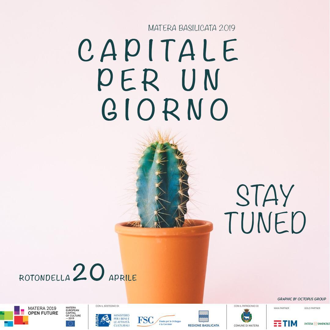 Matera 2019 Rotondella Capitale Per un giorno… S...