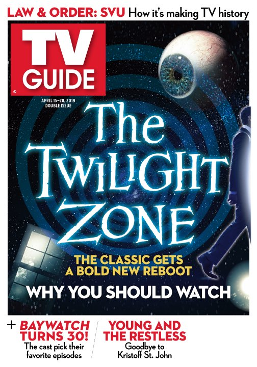 Just some light reading brought to you by @TVGuideMagazine 🌀 #TheTwilightZone