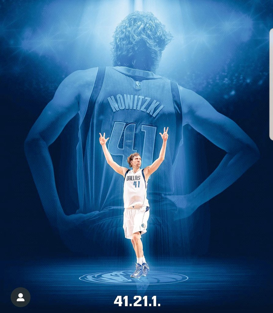 If you have anything planned today you better cancel it! Today could end up being Dirks last home game!   #MFFL I #NBATwitter