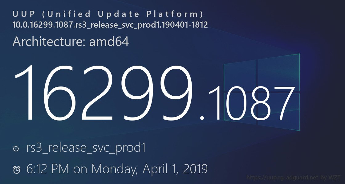 download cumulative update for windows 10 version 1709 for x64-based systems