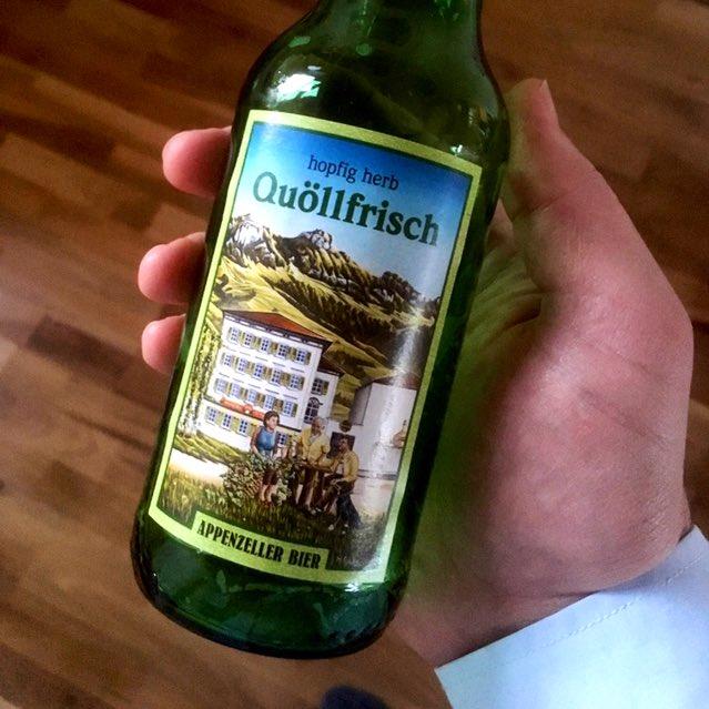 RT @grbhr: Gutes herbes #Bier aus der #Schweiz: #Quöllfrisch #Appenzeller https://t.co/9suUBTmPNU