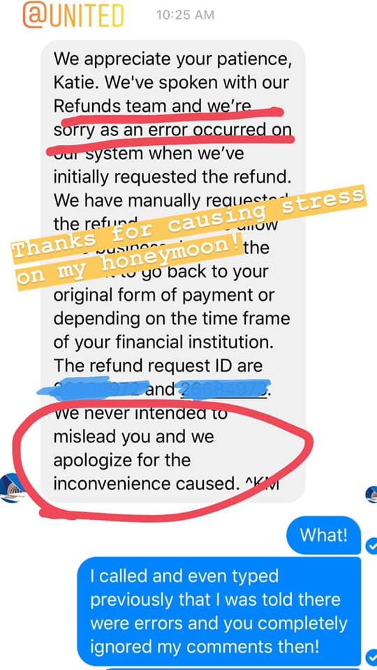32828d1f2 ... due to an error and incompetency! I ve had to file a formal complaint  to try and get my money back. UGH!pic.twitter.com 1Ianz3PRxU