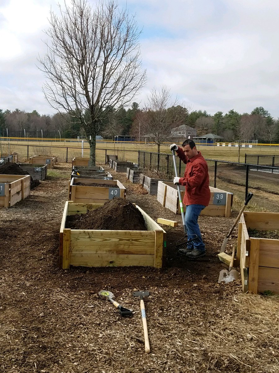 Community Garden build day - April 13