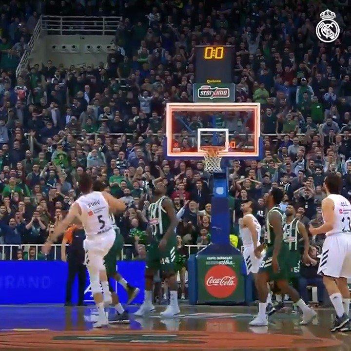 💯 EQUIPO | 💯 ESPECTÁCULO 7⃣ días para el playoff 🔥 #RMBaloncesto | #EuroLeague