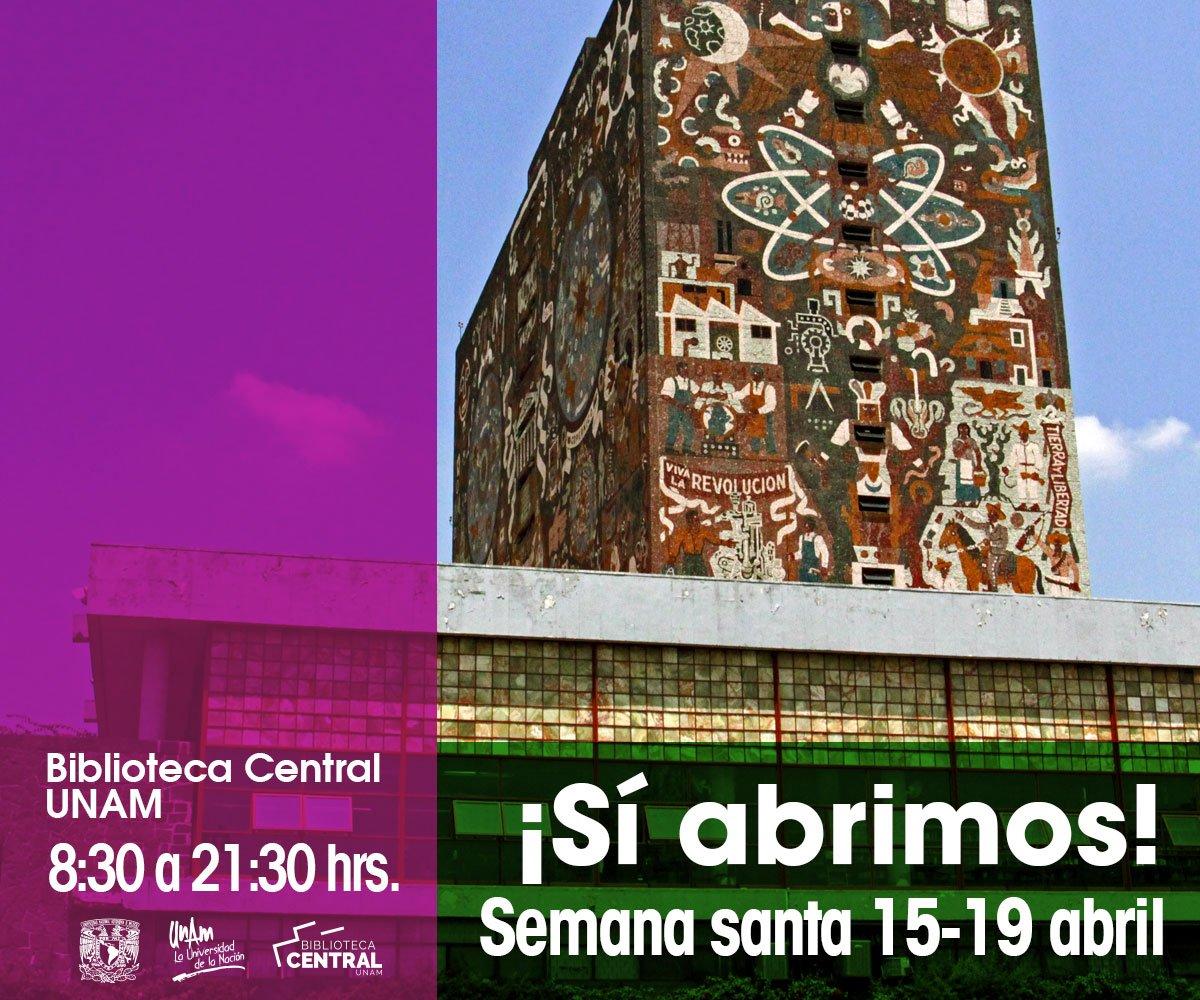 Bibliotecas UNAM's photo on Benja