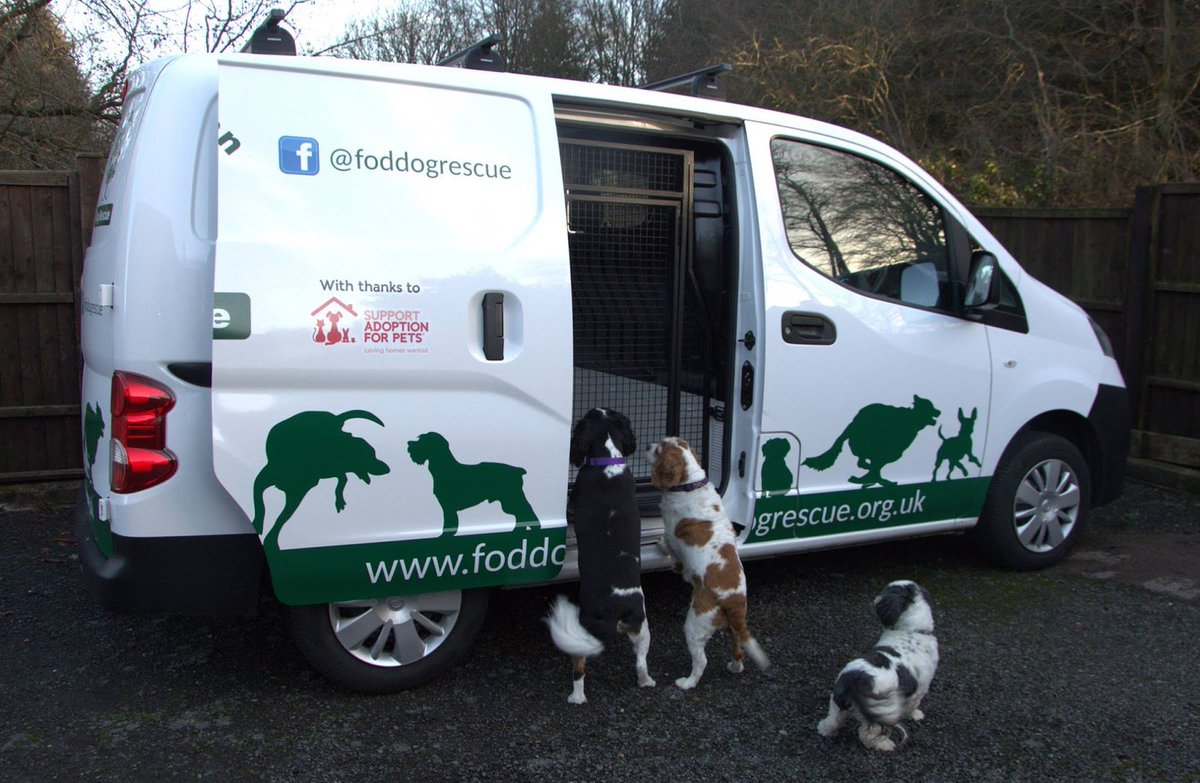 68eb8f0aba ... new van to transport its foster dogs. Looks like the team are enjoying  it! If you re a rescue in need of support and would like to apply for a  grant