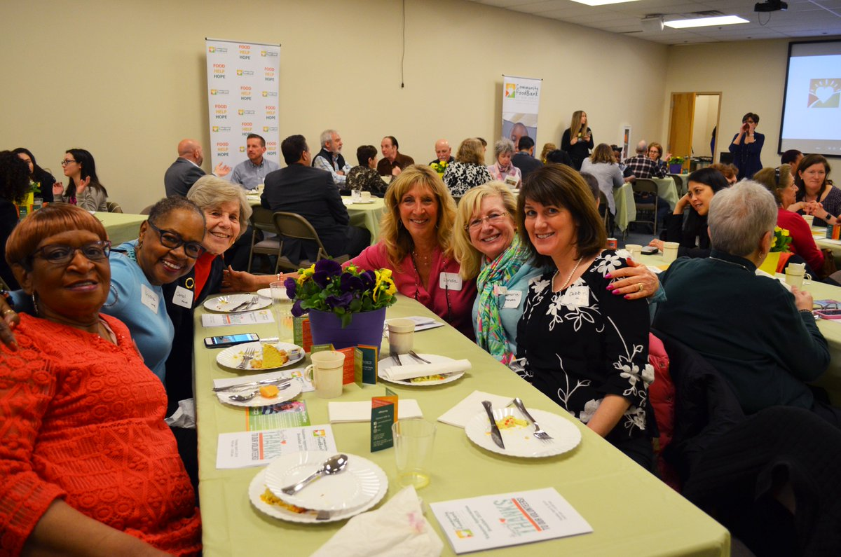This morning, the FoodBank held its annual Volunteer Appreciation Breakfast to thank some of our most dedicated corporate, community group, and individual volunteers. Check out some snapshots!