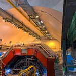 Image for the Tweet beginning: Pictures of ALICE at @CERN