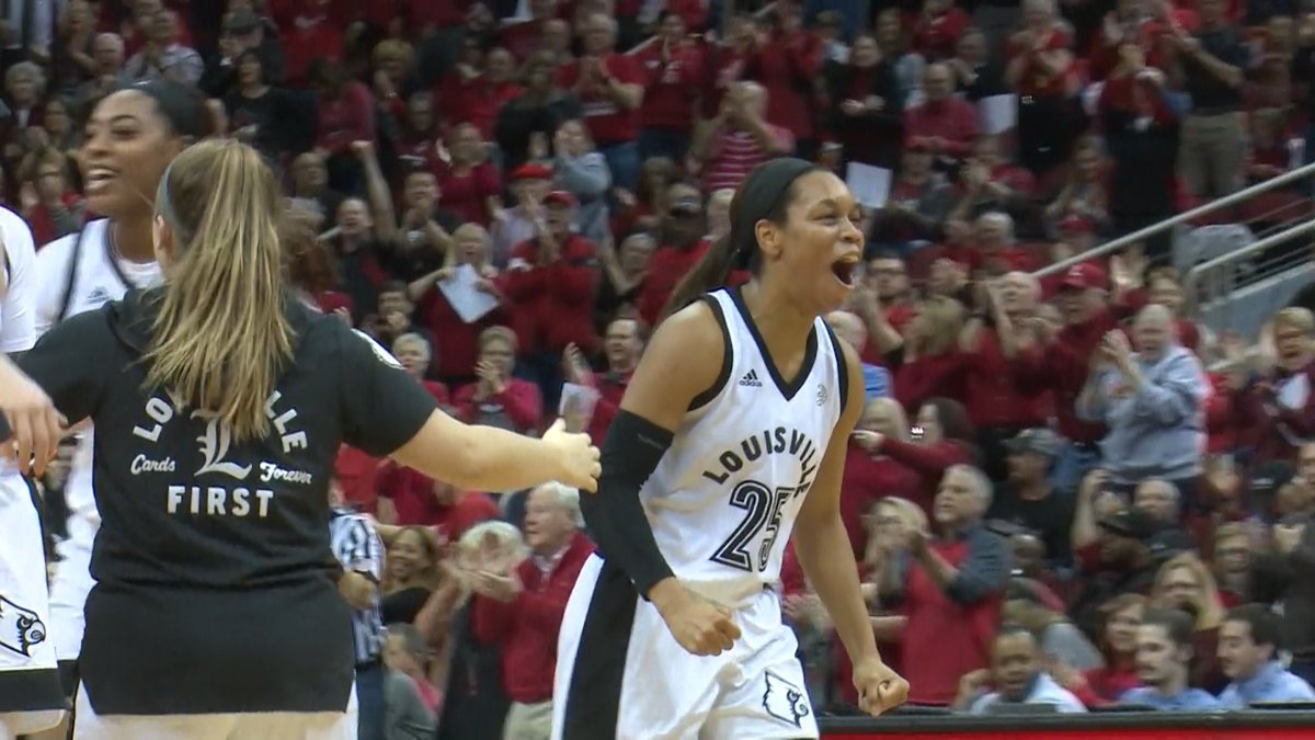 .@UofLWBB's Asia Durr (@A_Hooper25) is one of 12 prospects attending the WNBA Draft tomorrow night at the Nike New York Headquarters. @WLKY https://t.co/xR4upvJTDE
