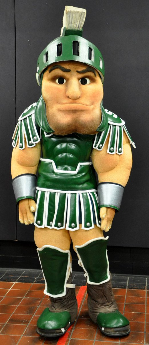 1989 : Original Sparty Outfit Resides in MSU Museum