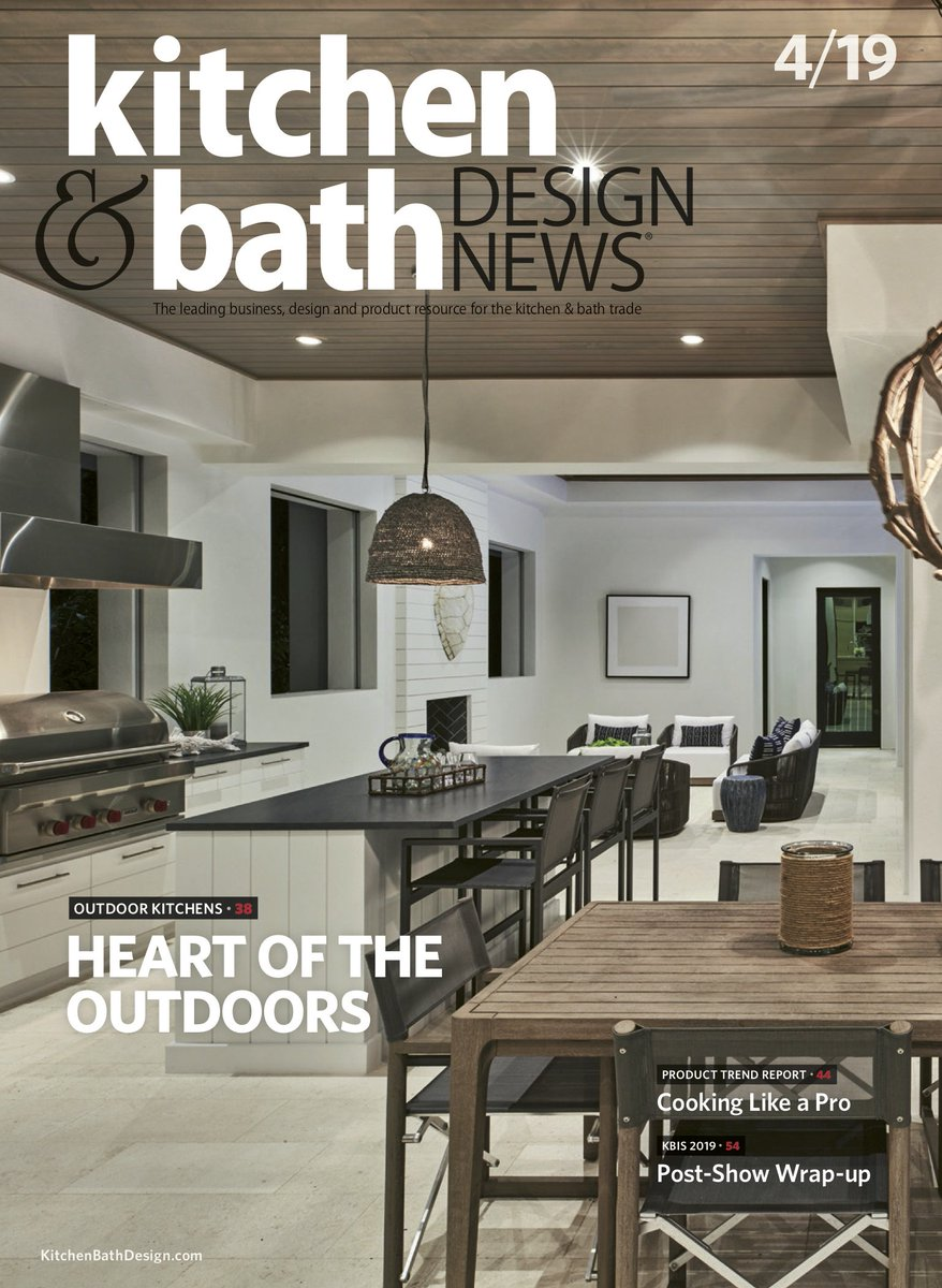 Visit Our Website To Check Out The Digital Edition And Subscribe Cover Project By Linda Sonders Design Kbdn Kitchendesign Bathdesign