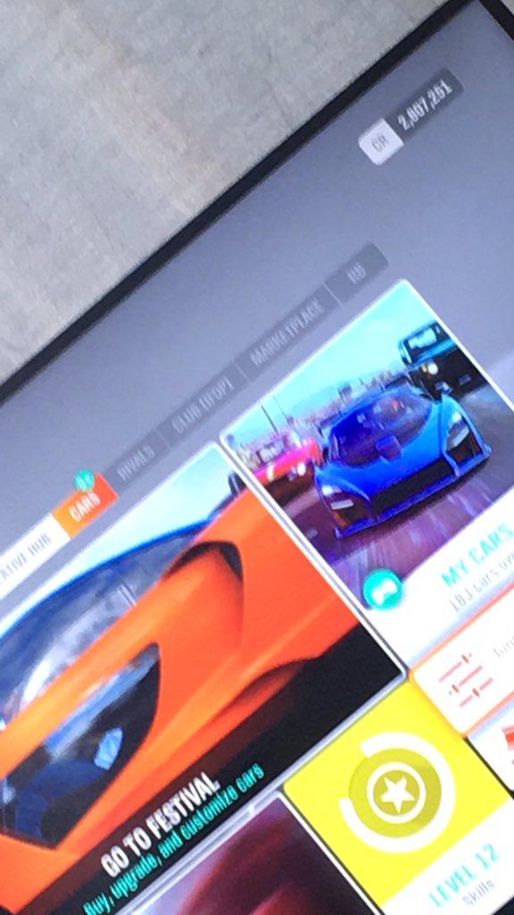 De servers van Forza Motorsport 7 werken niet  Huidige