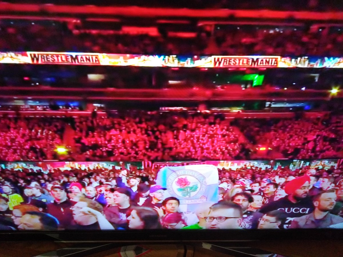 Xavier Blackburn-Campbell's photo on #WrestleMania
