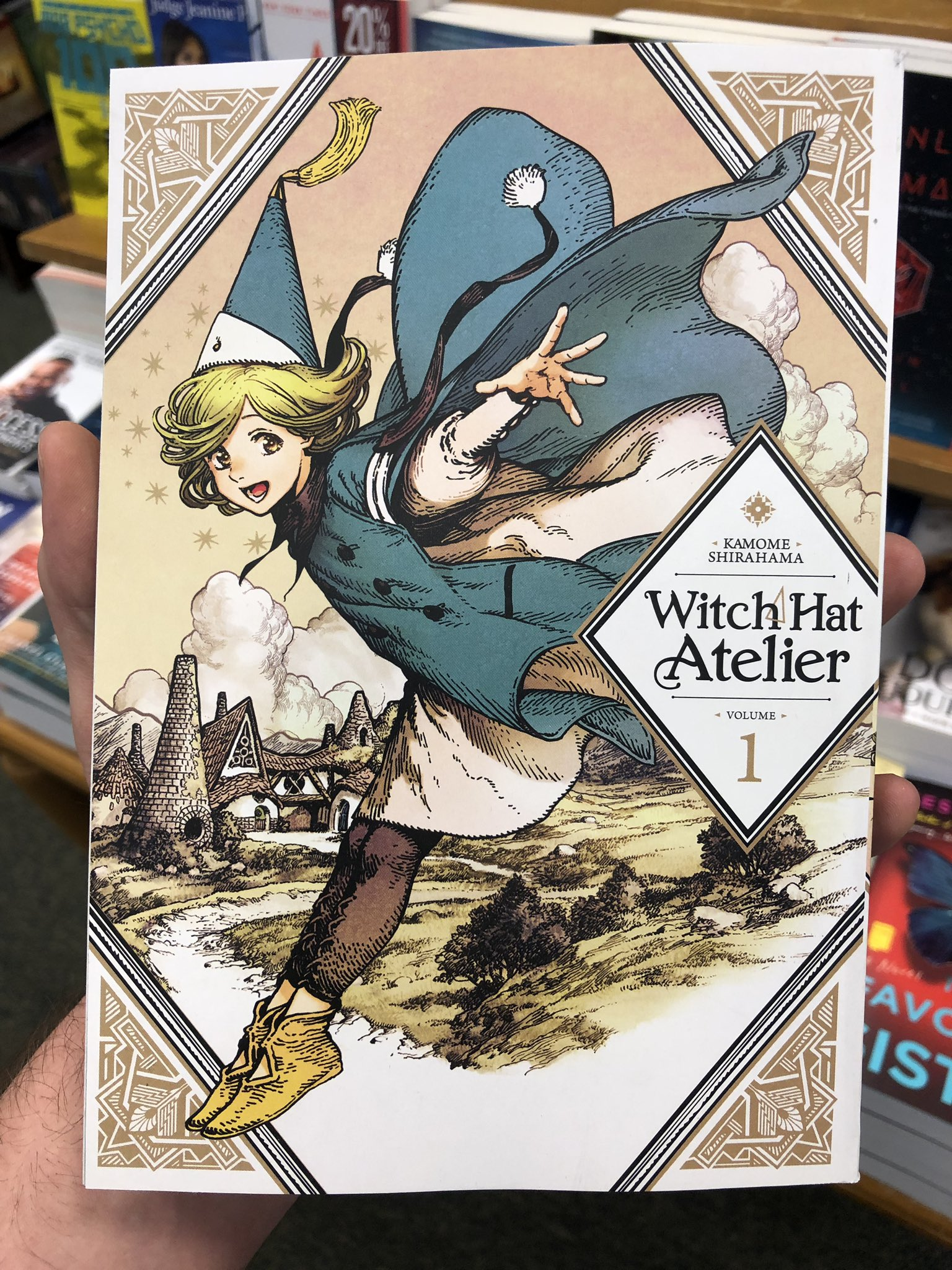 Minovsky On Twitter Witch Hat Atelier By Kamome Shirahama The Picture Book About Magic You Ve Been Looking For
