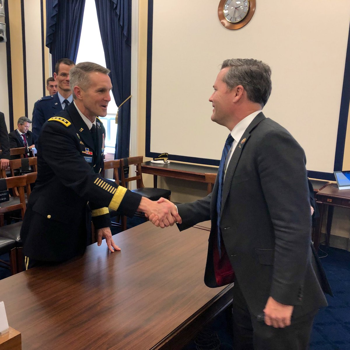 My time as a Green Beret means I know the resources our special operators need to complete their mission successfully & safely. Thank you to @USSOCOM Commander General Clarke & @DeptofDefense Deputy Assistant Secretary Mitchell for sharing with us at @HASCRepublicans today.