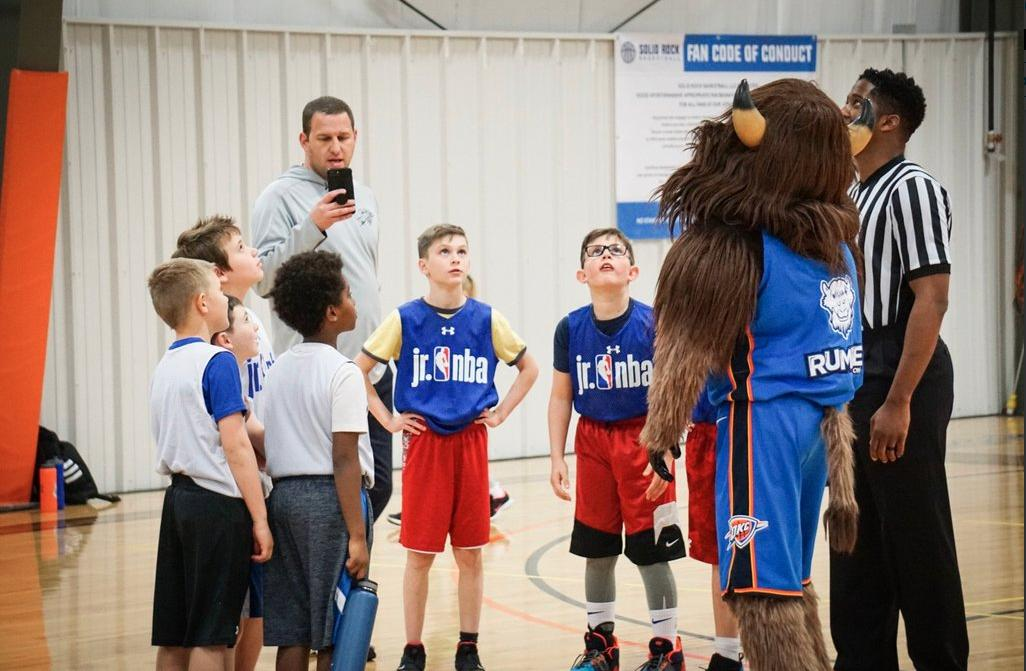 Good luck to our local Jr. NBA teams heading to compete in the @JrNBA 3v3 National Championship this Friday!   @SolidRockBBall // #ThunderYouthBasketball
