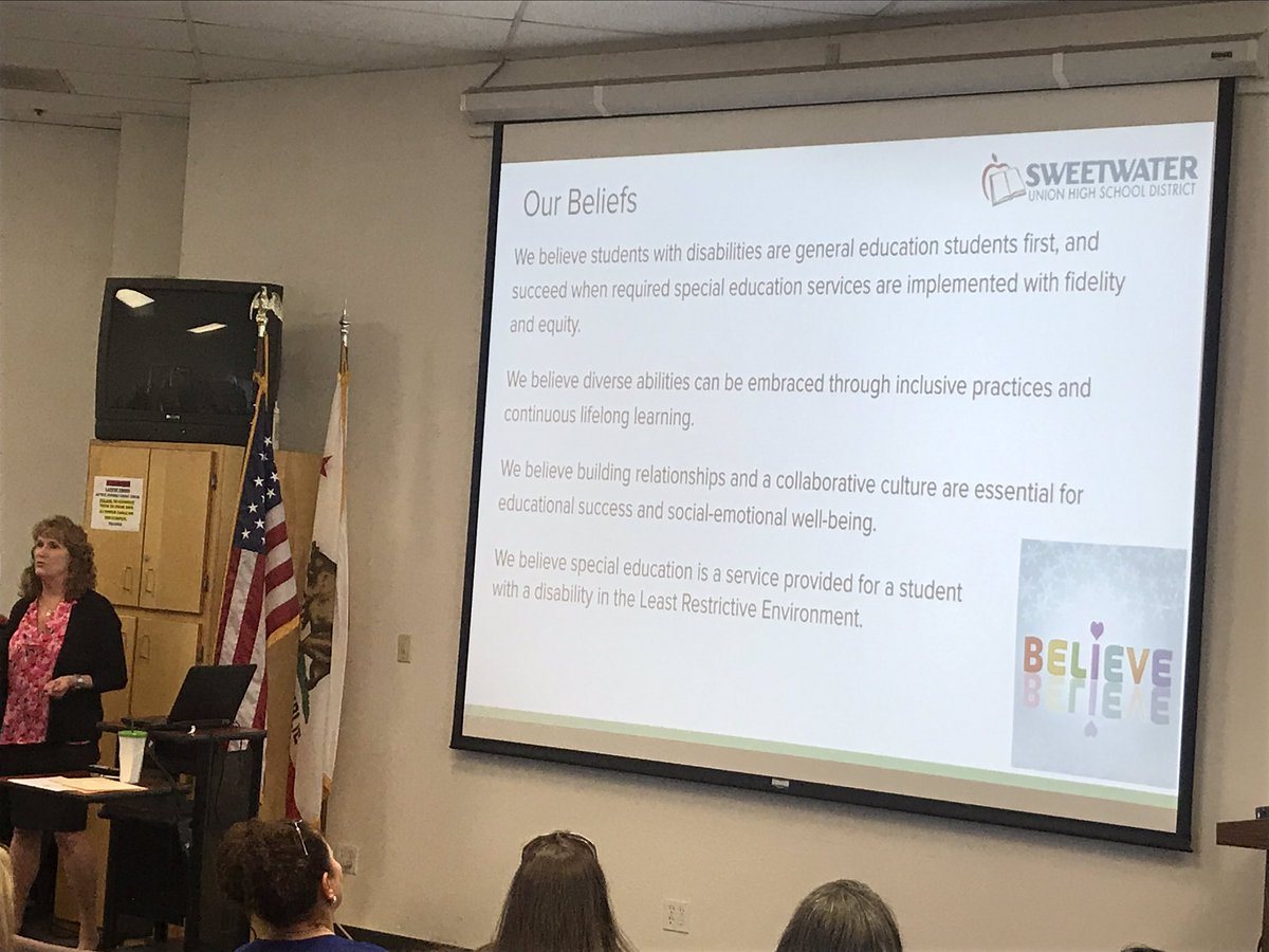 Update on SUHSD support for students with special needs with Director Carrie Rea
