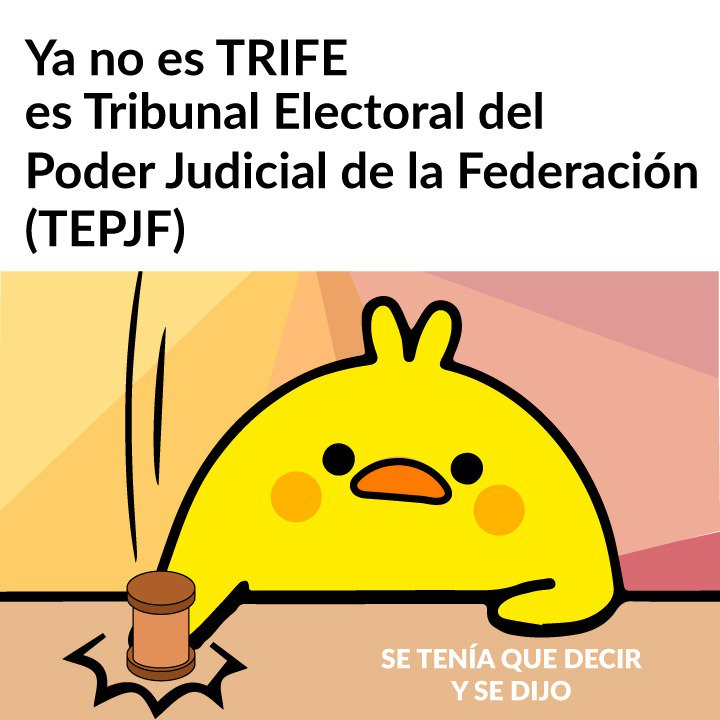 En 1996 el TRIFE fue incorporado al Poder Judicial de la Federación, constituyéndose en la máxima autoridad jurisdiccional electoral. A partir de ese año su nombre cambió a Tribunal Electoral del Poder Judicial de la Federación (#TEPJF) #SeTeniaQueDecirYseDijo