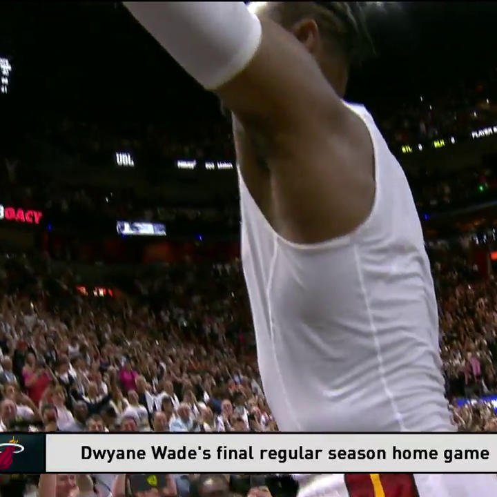 """Wade County, I love you.""   -@DwyaneWade signs off from South Beach. #OneLastDance #L3GACY"
