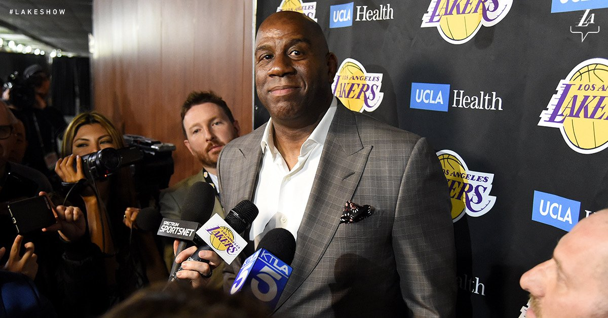 No More Magic: Johnson Abruptly Resigns From The LA Lakers