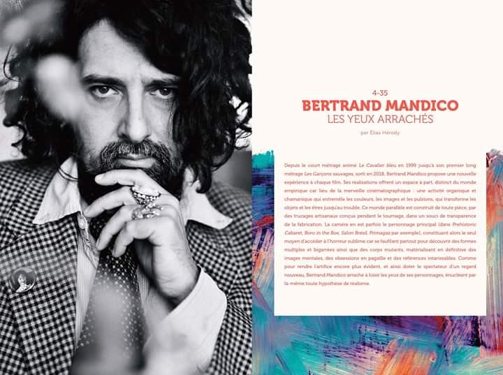 -- #Répliques n°12 > 1/5 : #BertrandMandico -- Il ouvre le nouveau numéro bientôt disponible. Dans un entretien au long cours mené par @cinemastock, il revient en détails sur son parcours, son rapport à la mise en scène et ses diverses influences. Portrait © Philippe Lebruman