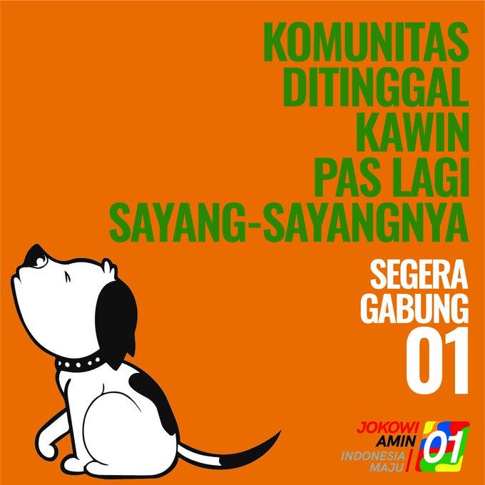 30  Berbagai Meme Kocak Nama Komunitas Masyarakat Pendukung Jokowi Siap Putihkan GBK Tanggal 13