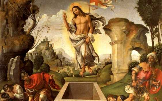 CHRIST is RISEN,   Christ is alive among us!  Alleluia!  Today is Easter commemorating the resurrection of Jesus from the dead. According to the Gospels, Jesus Christ rose from the dead on the third day following his crucifixion.