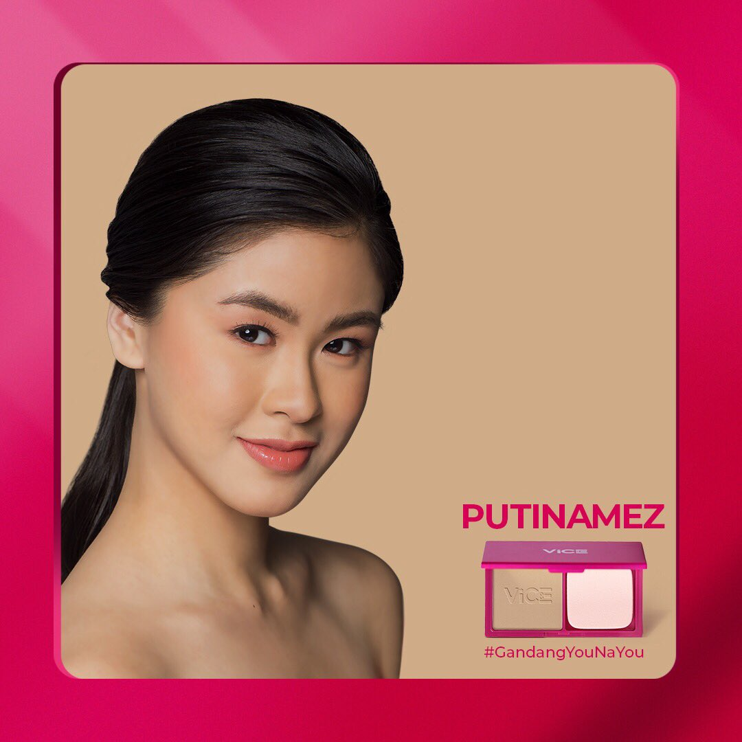 Iba talaga ang datingan ni @kissesdelavin sa #GandangPutinamez! ❤️ Putinamez is a Warm Neutral shade for light skin. Nakaka-celeb ang kinis ng fez mo! Walang hulas bes! 😍  #GandangYouNaYou #GandaForAll #ViceCosmetics