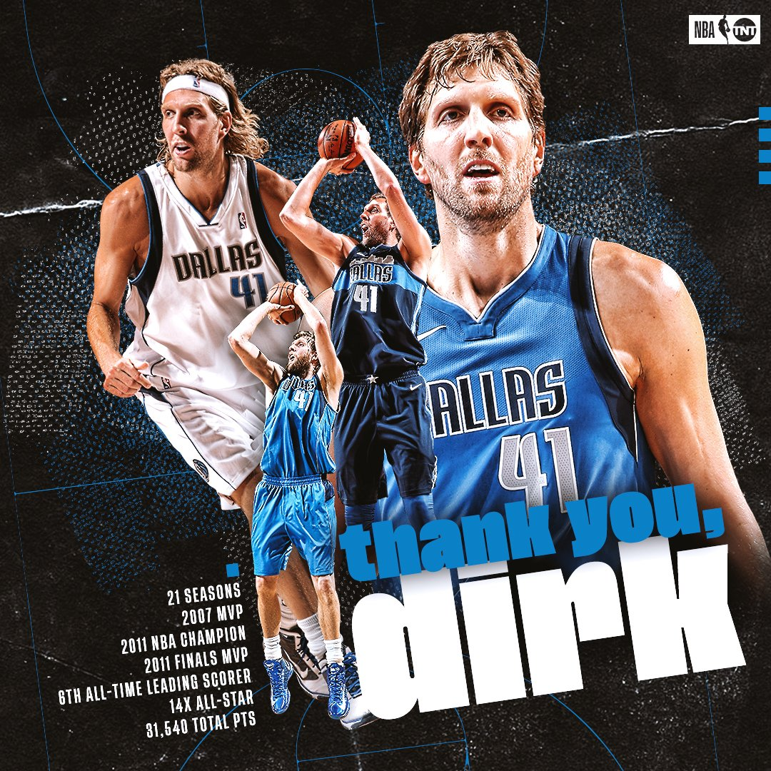 Forever a LEGEND.   Thank you, Dirk!