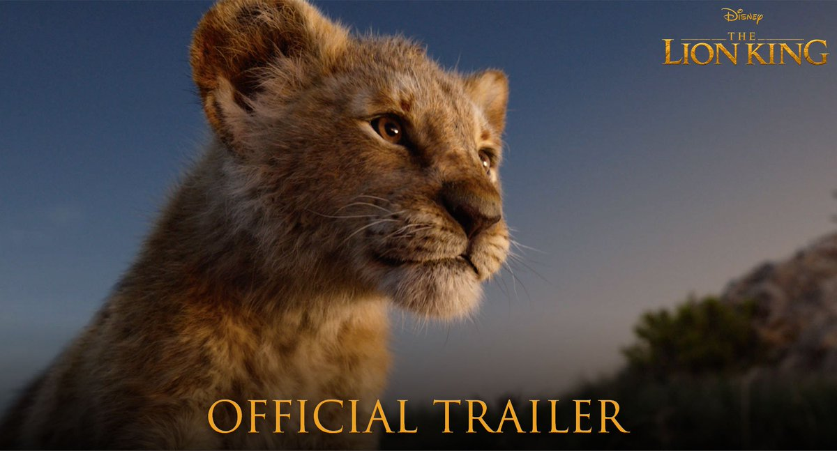 In 100 days, the king arrives. Watch the brand new trailer for #TheLionKing now.
