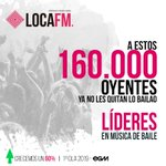 Image for the Tweet beginning: ¡¡160.000 gracias a tod@s!! 🔥♥️ . . . #Locafm