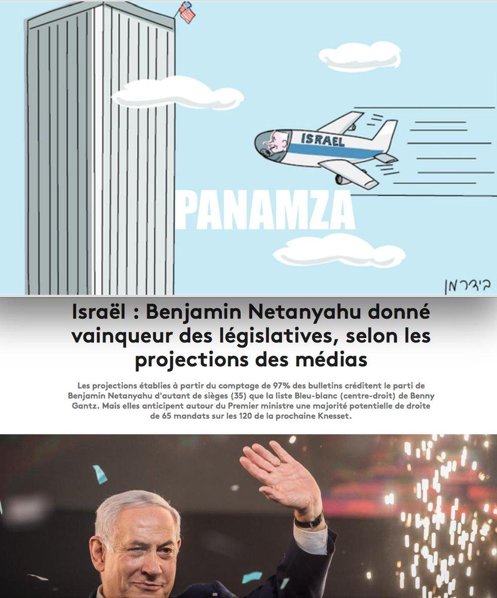 Victoire de l'Israélien Netanyahou, criminel de guerre et co-architecte du 11-Septembre