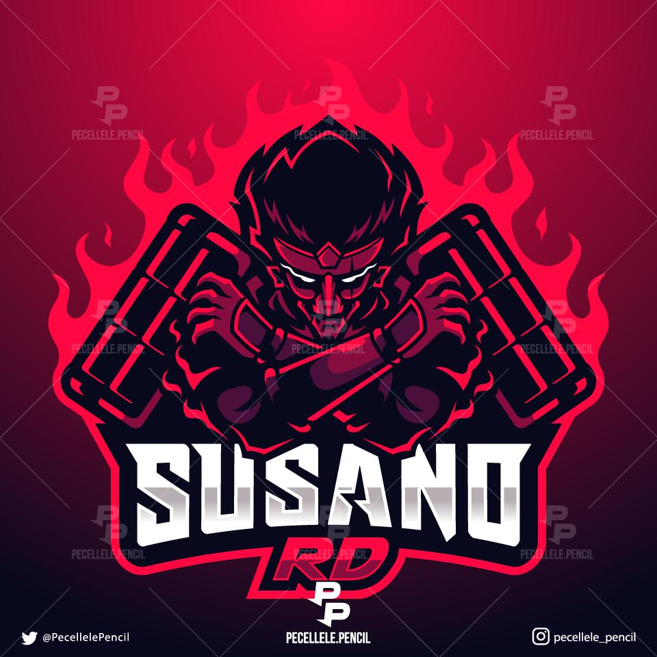 #logo done for SusanoRD Gaming. dm/email for custom order. @SGH_RTs @LaZy_RTs @GamerRetweetNow  @DNRRTs @RogueRts @FameRTR @Quickest_Rts @Mighty_RTs @Demented_RTs @FlyRts @TwitchReTweets @PromoteGamers @FindMeGFX #mascotlogo #logodesign #twitchtv #Apexlegends #squadlogo #gamerspic.twitter.com/bHNCnbt1yf