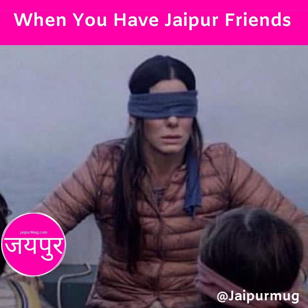Do You have such Jaipur Loyal Friends Tag Them.  #memesdaily #memes #meme #memesgraciosos #memeo #gags #memed #memer #memestagram #memes #jaipur #jaipurmemes #jaipurmeme #dankmemes #funnymemes #memelord #memeteam #comedy #memeoftheday #bestfriend #standuppic.twitter.com/IKqrKrz1kw