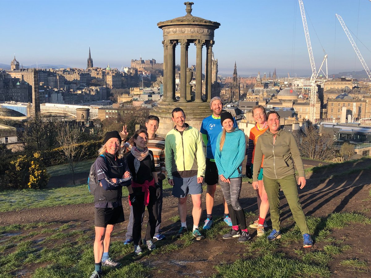 Beautiful morning conference run at #UTE2019 Thank you @BES_ScotPol for guiding us through Edinburgh on a sunlit morn ⁦@BritishEcolSoc⁩ ⁦@soctropecol⁩